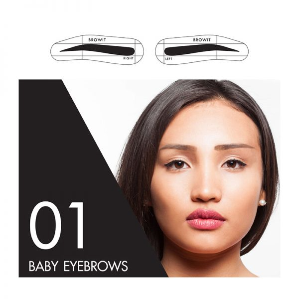 Browit Sticker 01 Baby Eyebrow
