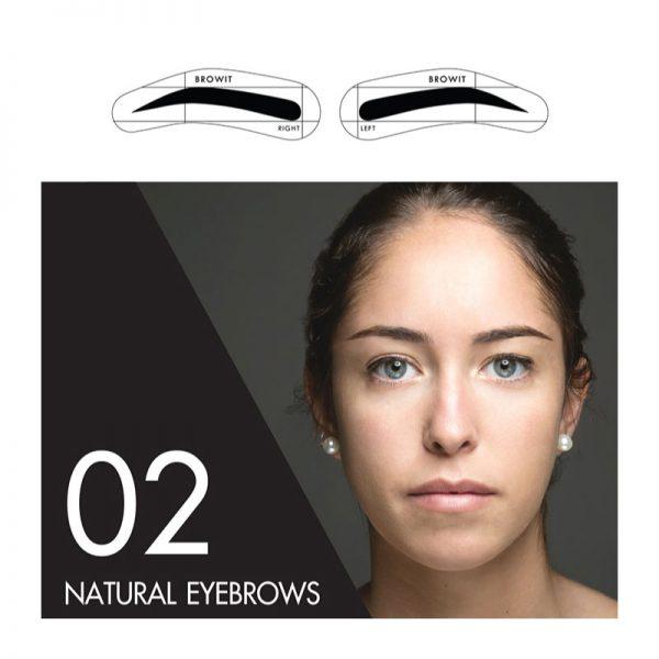Browit Sticker 02 Natural Eyebrow