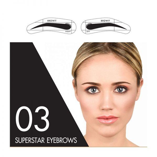 Browit Sticker 03 Superstar Eyebrow