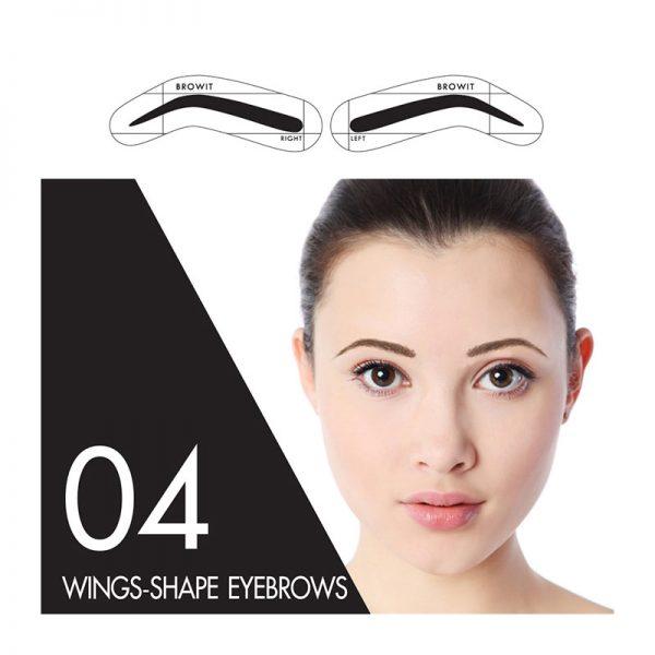 Browit Sticker 04 Wings-shape Eyebrows