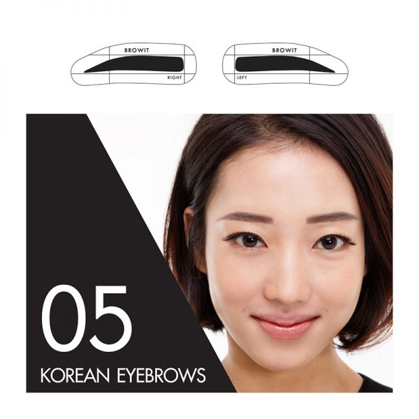 Browit Sticker 05 Korean Eyebrows