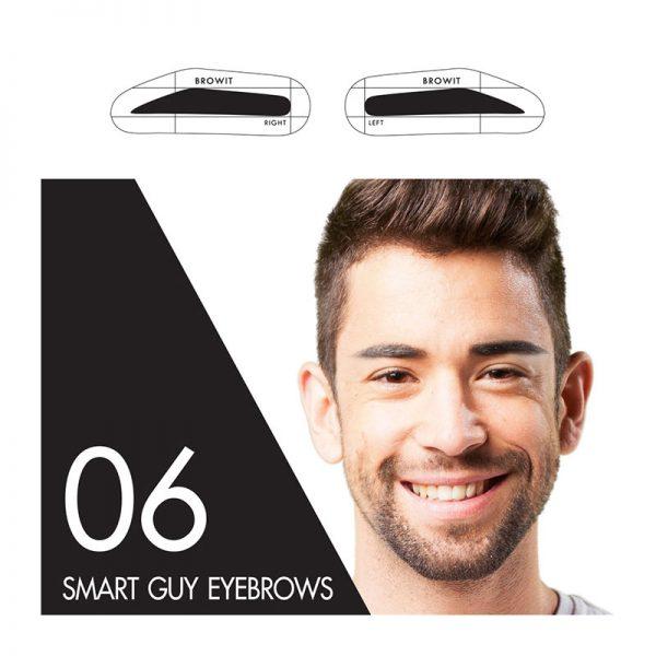 Browit Sticker 06 Smart Guy Eyebrows