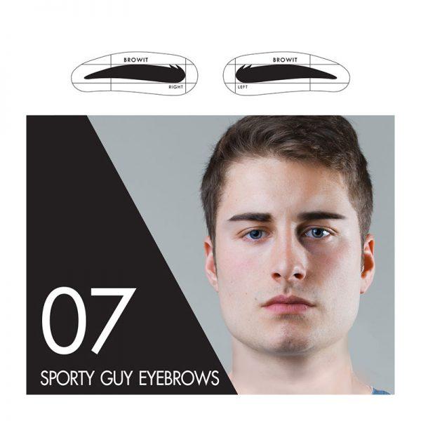 Browit Sticker 07 Sporty Guy Eyebrows
