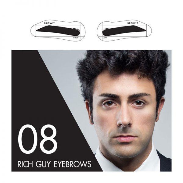 Browit Sticker 08 Rich Guy Eyebrows