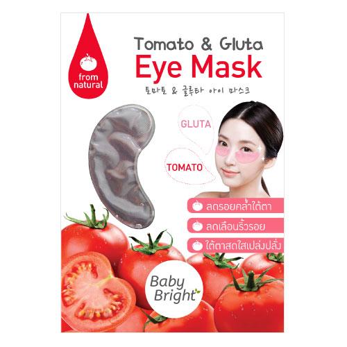 Baby Bright Tomato & Gluta Eye Mask (1 Pair)