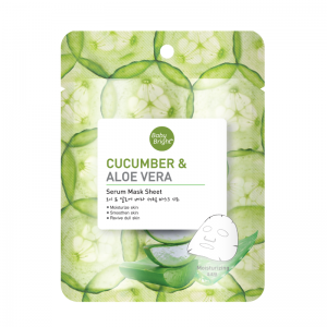 Baby Bright Cucumber & Aloe Vera Serum Sheet Mask