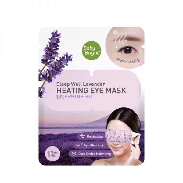 Baby Bright Sleep Well Lavender Heating Eye Mask
