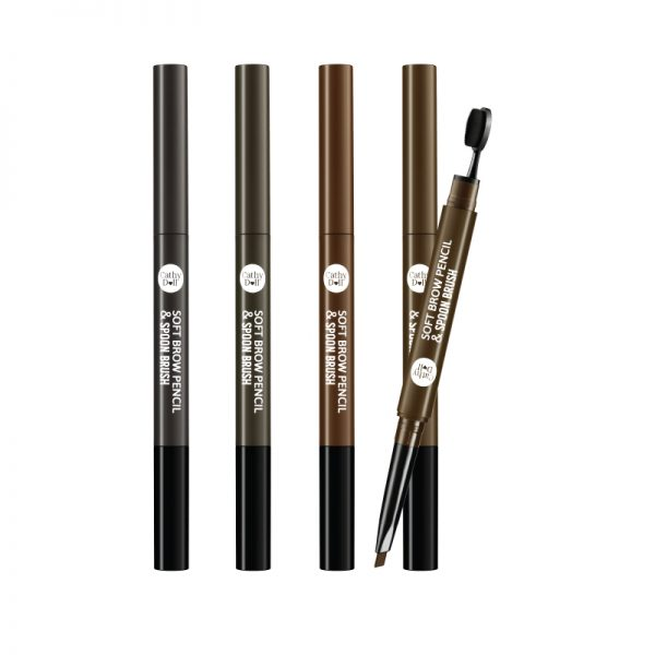 Cathy Doll Soft Brow Pencil & Spoon Brush